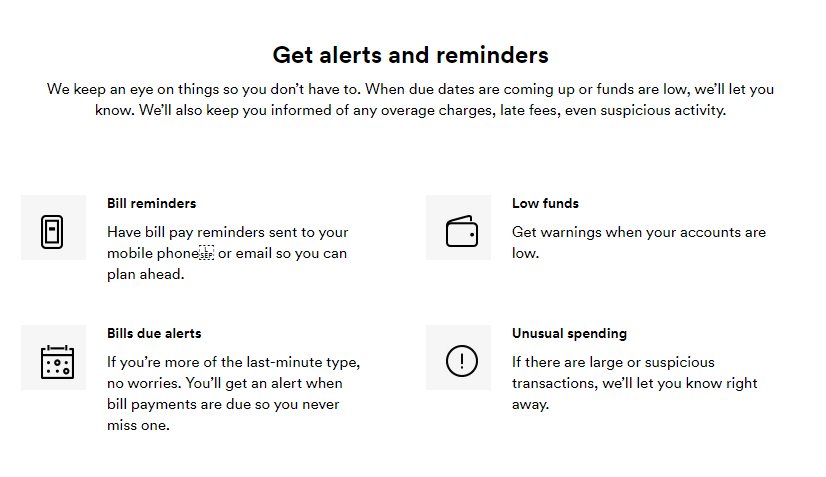 Get Alerts and Reminders with Mint