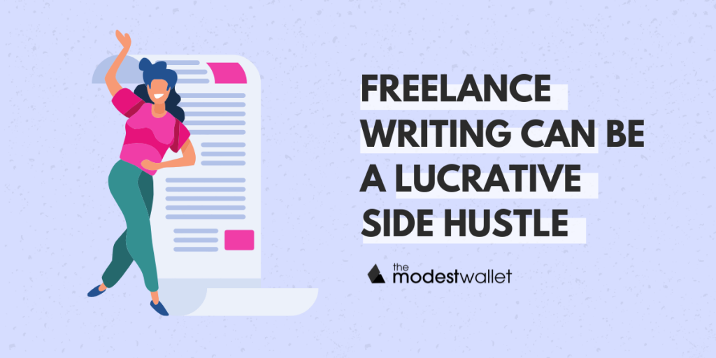 Freelance Writing as a Side Hustle