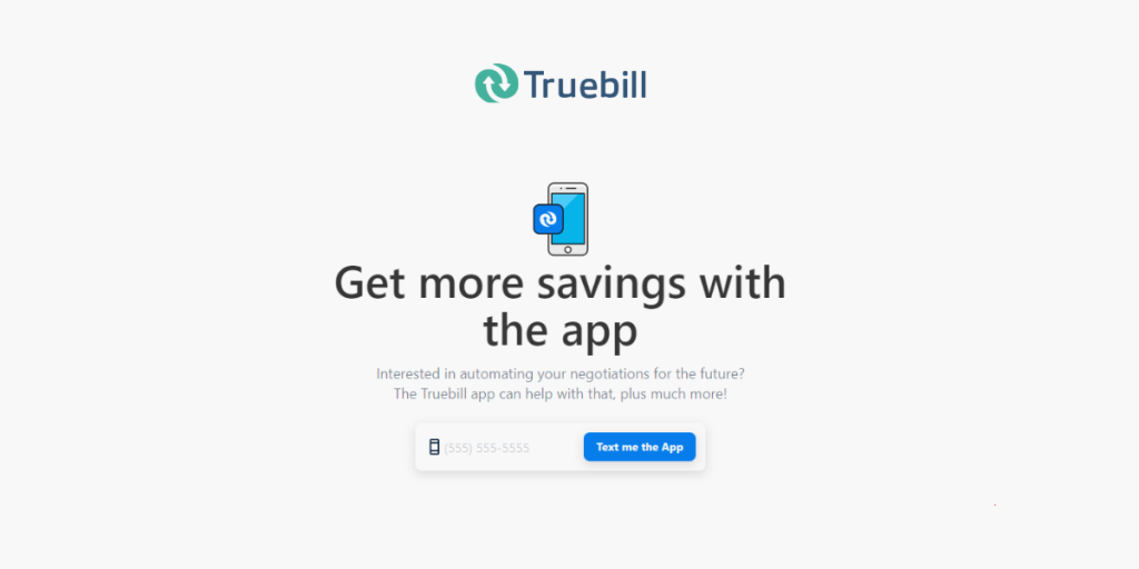 Save Money with Truebill