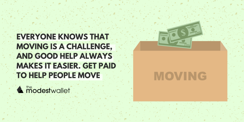 Get Paid to Help People Move