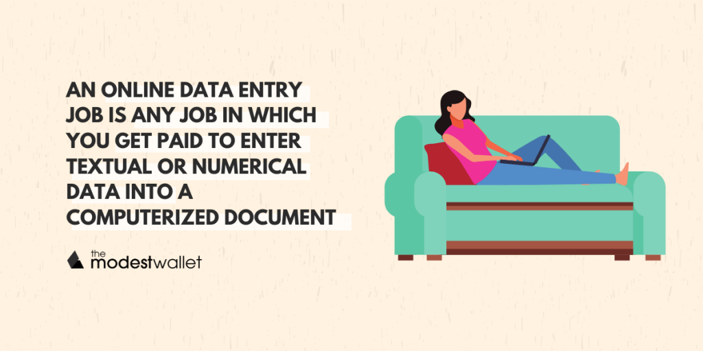 What are data entry jobs