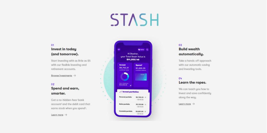 Make Money with Stash App