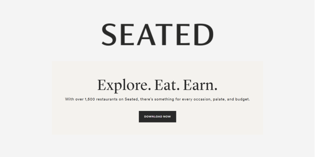 Get Paid to Eat with Seated
