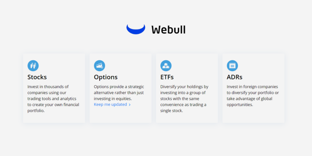 Commission Free Investing with Webull