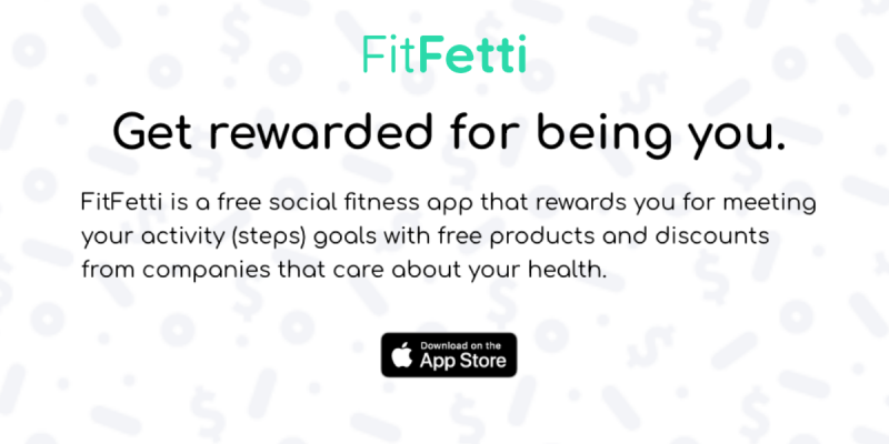 FitFetti Get Rewarded About Your Health