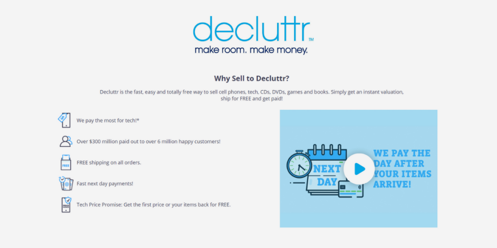How to Make Money Selling Stuff with Decluttr