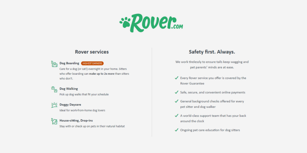 How Rover Works