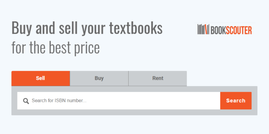 Buy and sell textbooks online for profit with Bookscouter