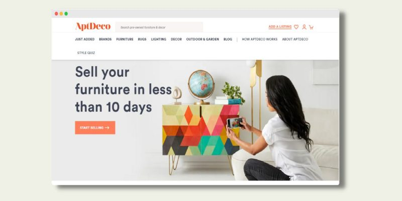 AptDeco Sell Your Furniture for Cash