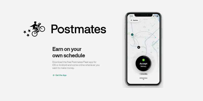 Earn Money Delivering with Postmates