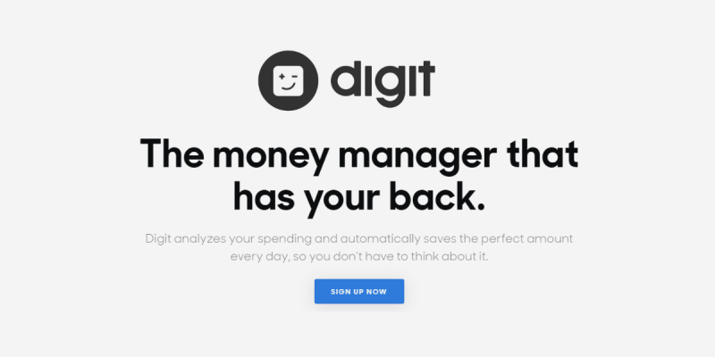 How the Digit App Works