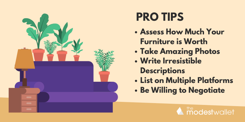 Pro Tips for How to Sell Furniture