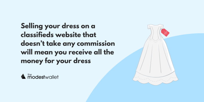 Best Places to Sell Wedding Dress Online or Locally