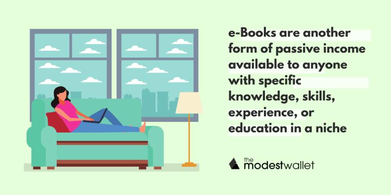 Create e-books and sell them
