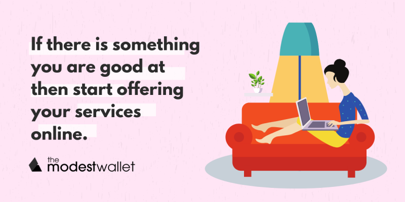 Offer your services online
