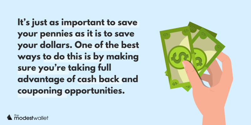 Save Money with Cash Back and Coupons