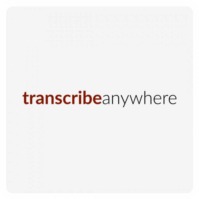 Transcribe Anywhere Logo
