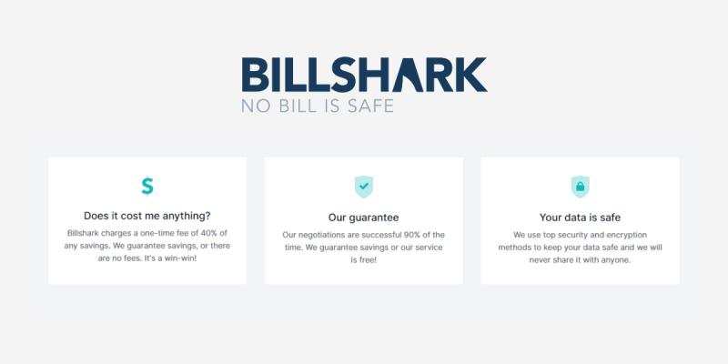 Billshark pricing