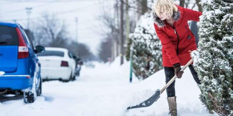 Make money in college shoveling snow