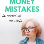 Money Mistakes to Avoid