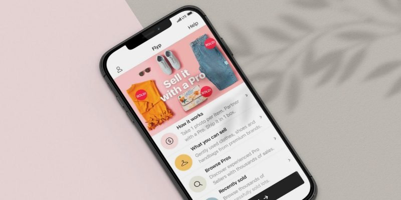 Flyp App to Sell Clothes Online