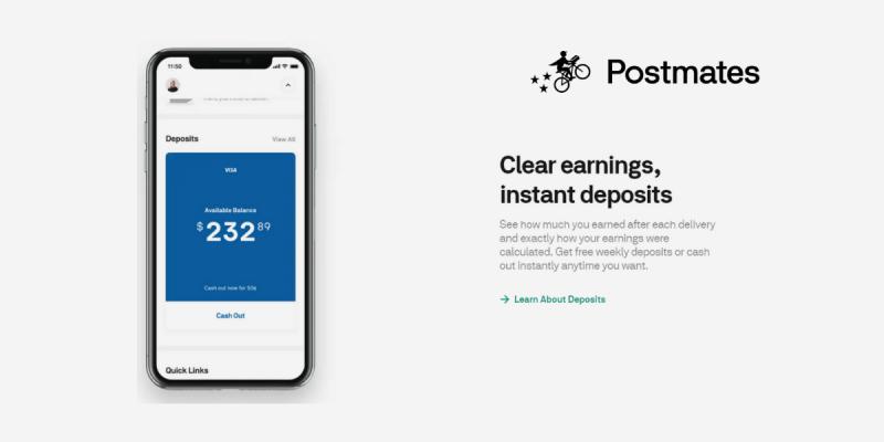 Make Money as a Postmates Driver