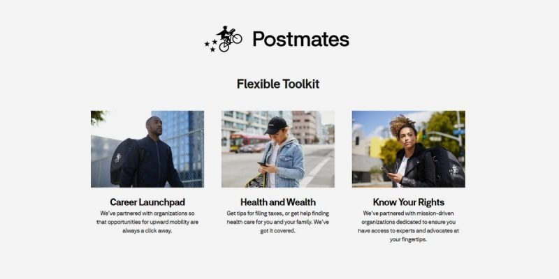 How Postmates for Drivers Works