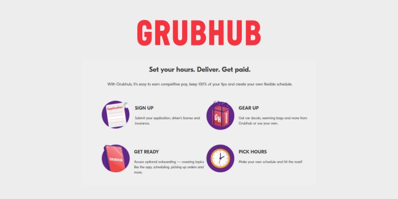 Make Money as a Grubhub Driver