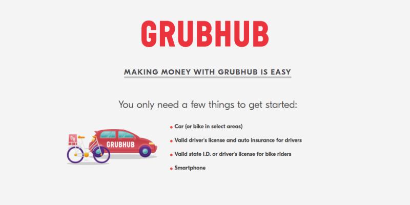 Grubhub Driver Requirements