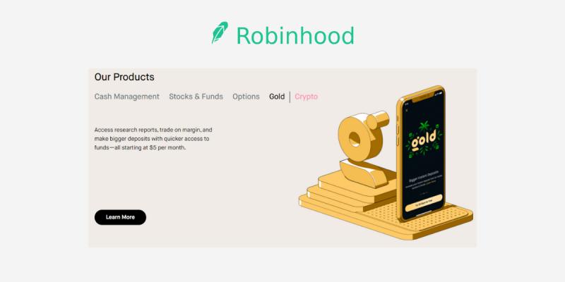 Robinhood Review: Robinhood Gold