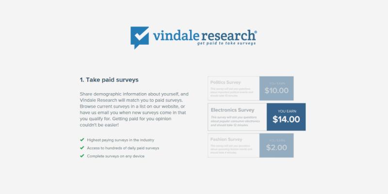 Vindale Research Review: Take Paid Surveys