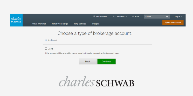 How to Open an Account at Charles Schwab
