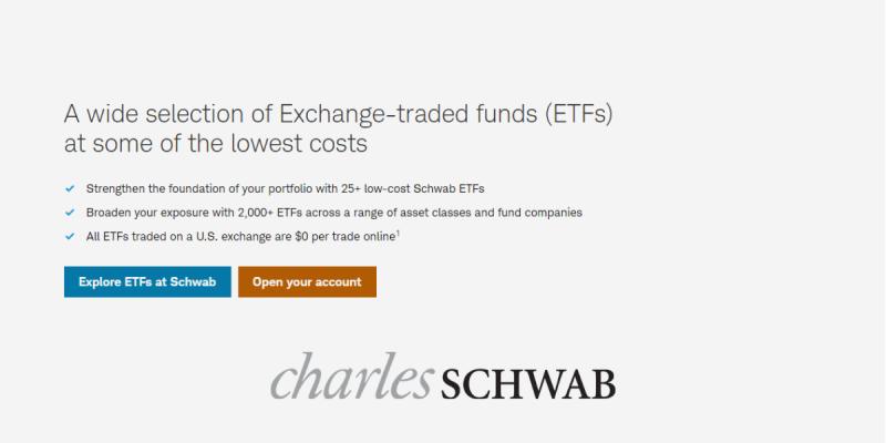 Socially Responsible ETFs at Charles Schwab