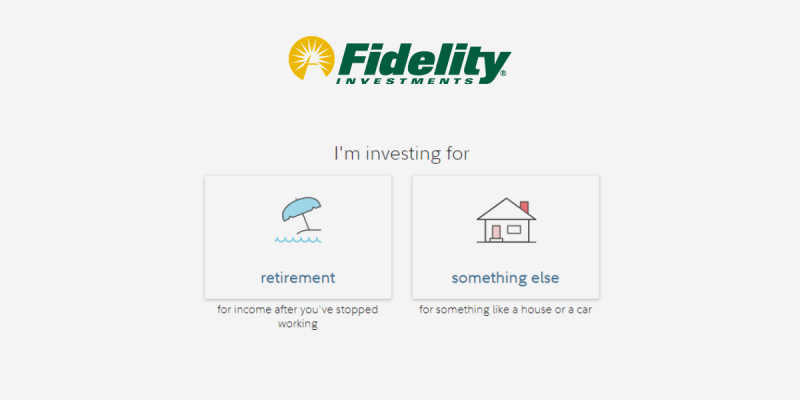 How to Open a Fidelity Go Account