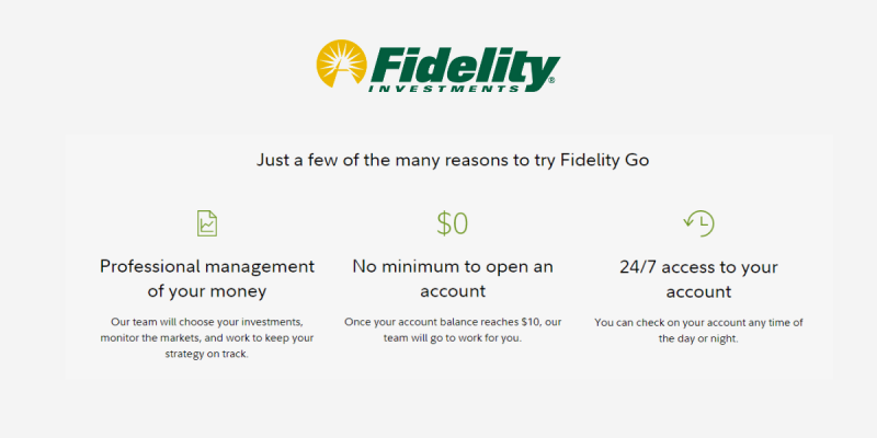 Why Invest With Fidelity Go