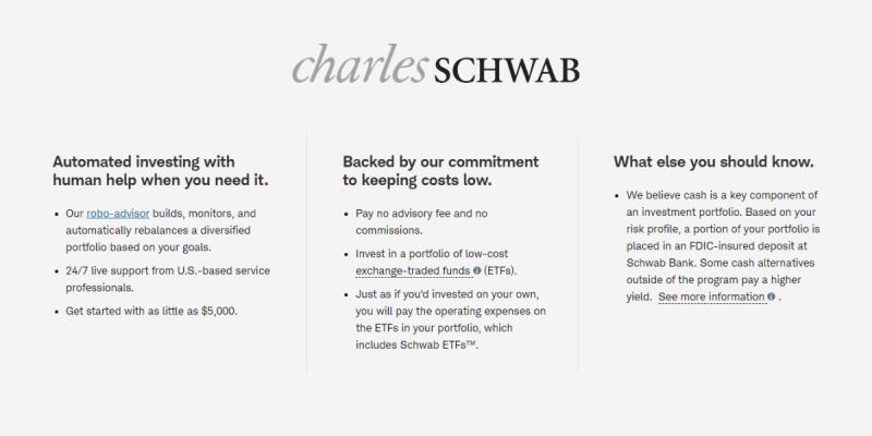 Schwab Intelligent Portfolios Portfolio Mix