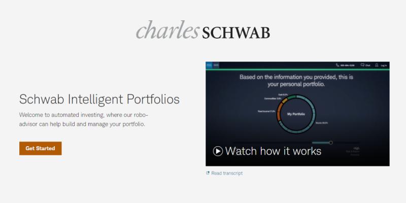 What is Schwab Intelligent Portfolios