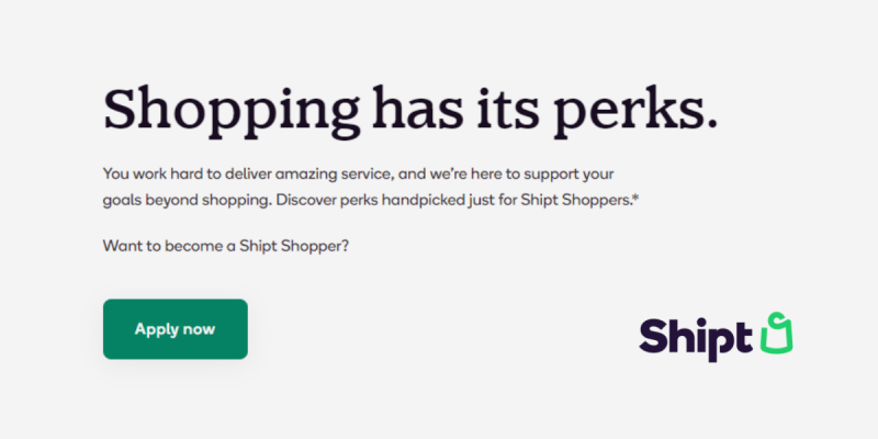 Perks and Rewards for Shipt Shopper