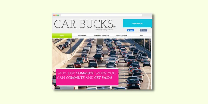 Get Paid to Advertise on Your Car Car Bucks