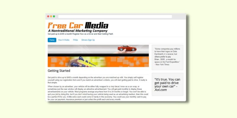 Make Money with Free Car Media