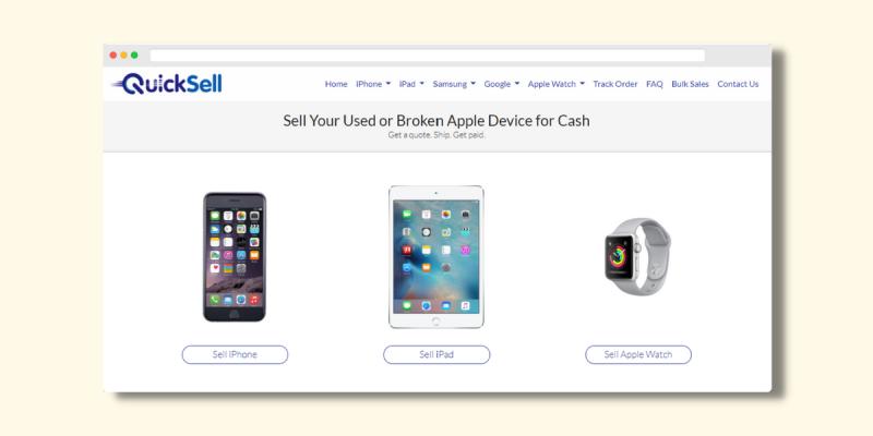 QuickSell Website