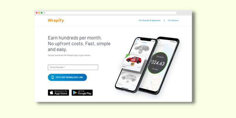 Wrapify Get Paid to Drive