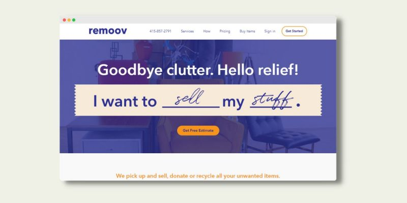 How to Sell Furniture with Remoov