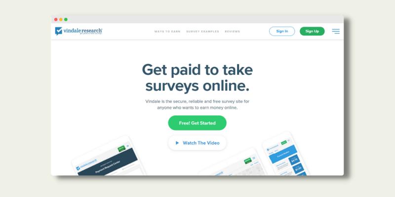 Vindale Research Surveys That Pay Cash Instantly