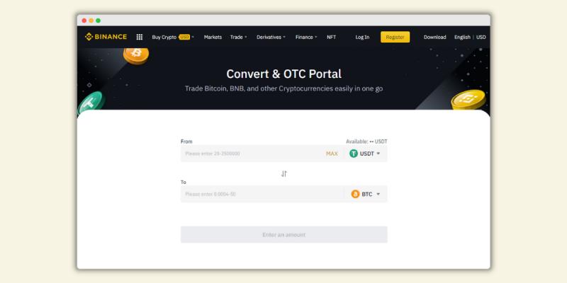Binance OTC Trading