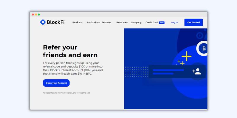 BlockFi Referral Program