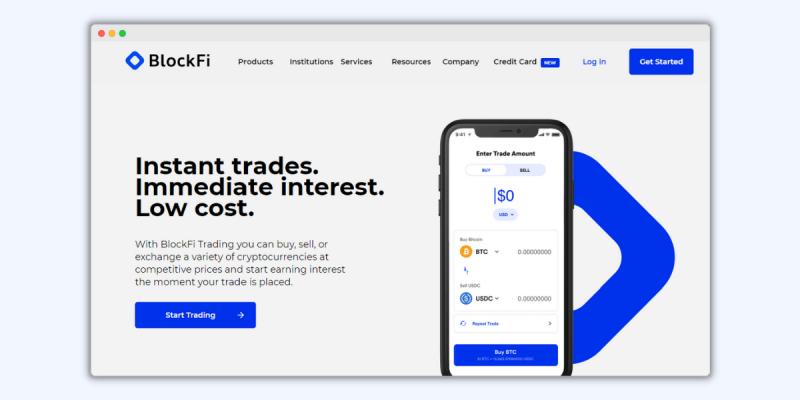 BlockFi Trading Platform