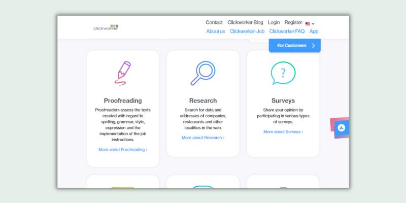 Clickworker Proofreading Jobs