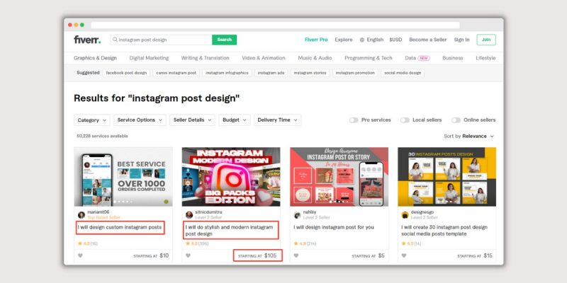 Create Instagram Content for Others