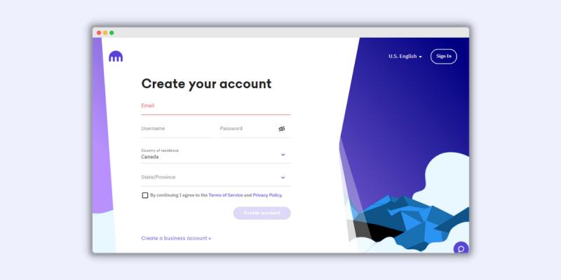Kraken How to Open an Account